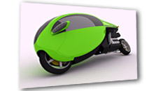Cabine motorcycle D1