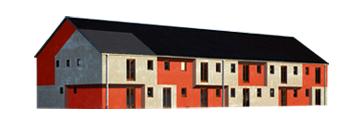 Návrh domovní fasády