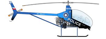 Vrtulník Police