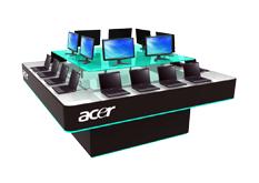 prezentační stánek Acer