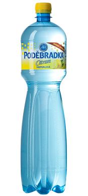 láhev pro ochucenoou vodu Poděbradka