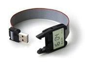 digitální hodinky s USB Timeless Watch